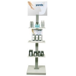 Yards Fine Footcare Gulvdisplay